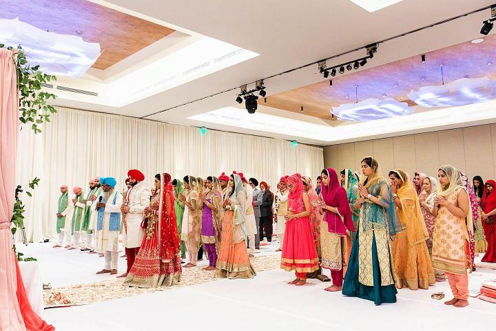 Sikh wedding at Pasea hotel & Spa