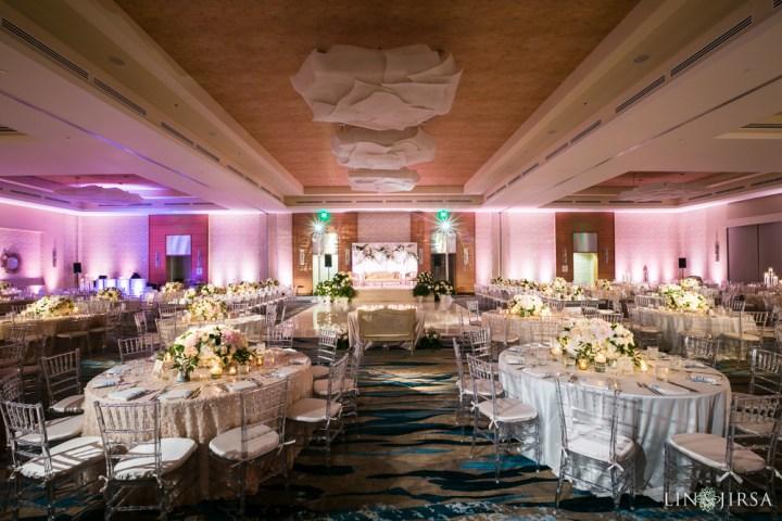 Indian wedding reception at Pasea Hotel & Spa