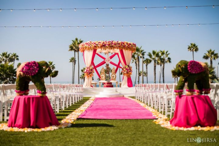 Indian wedding Ocean Lawn Pasea Hotel and Spa