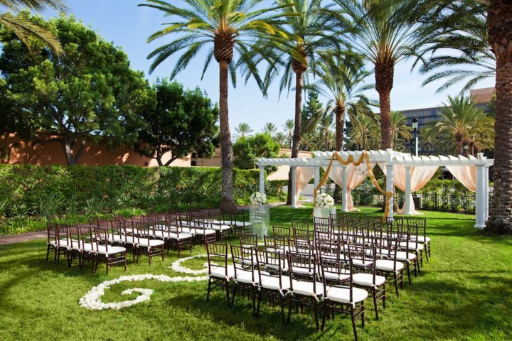 Wedding at the Sheraton Park Anaheim