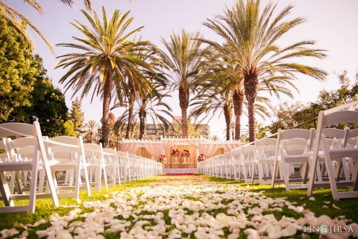 Indian wedding mandap at the Sheraton Park Anaheim