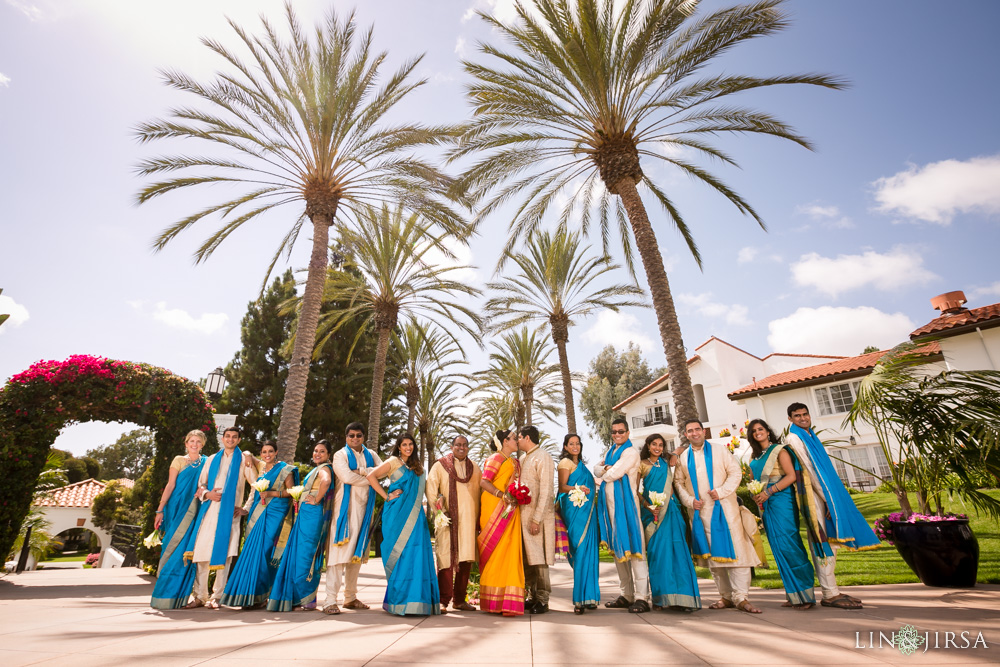 Indian wedding at the Omni La Costa Resort in Carlsbad.