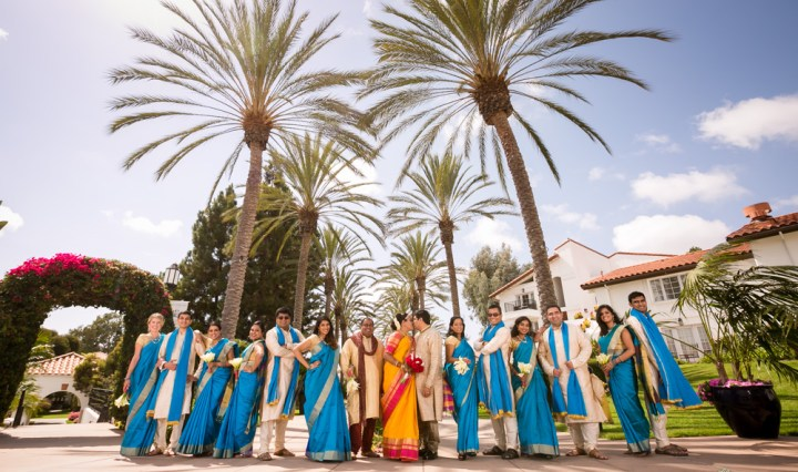 Indian wedding at the Omni La Costa Resort in Carlsbad.