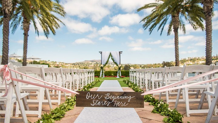 Omni La Costa Resort is one of the best Indian wedding venues are in southern California with a $100K budget