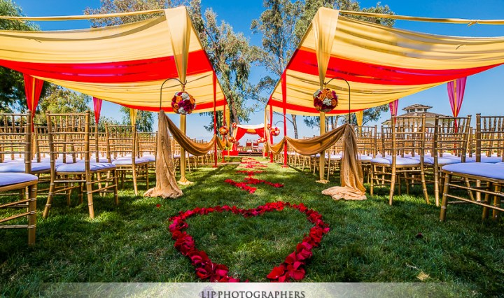 Indian wedding ceremony at Pacific Palms Resort
