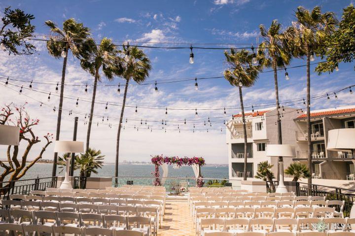 Indian wedding ceremony Loews Coronado Bay Resort