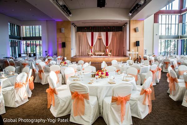 An Indian wedding reception at the Diamond Bar Center