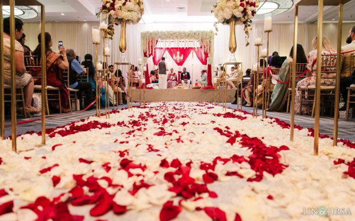 Indian wedding ceremony Santa Clara Marriott