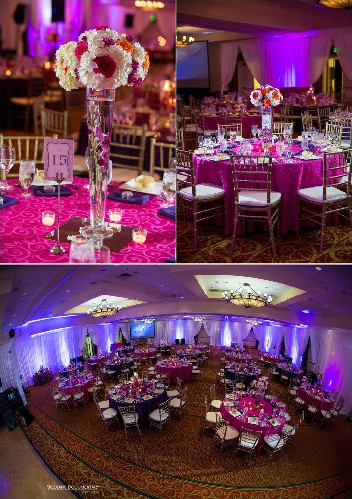 India wedding reception Santa Clara Marriott