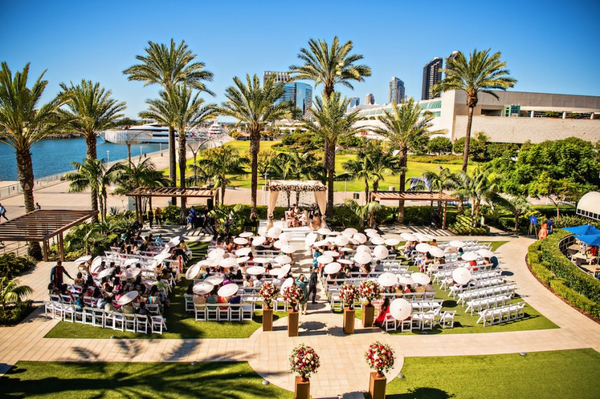 Indian wedding at the Hilton San Diego Bayfront