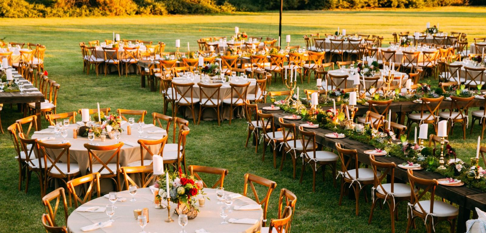 Indian wedding reception at Ethereal Open Air Resort.