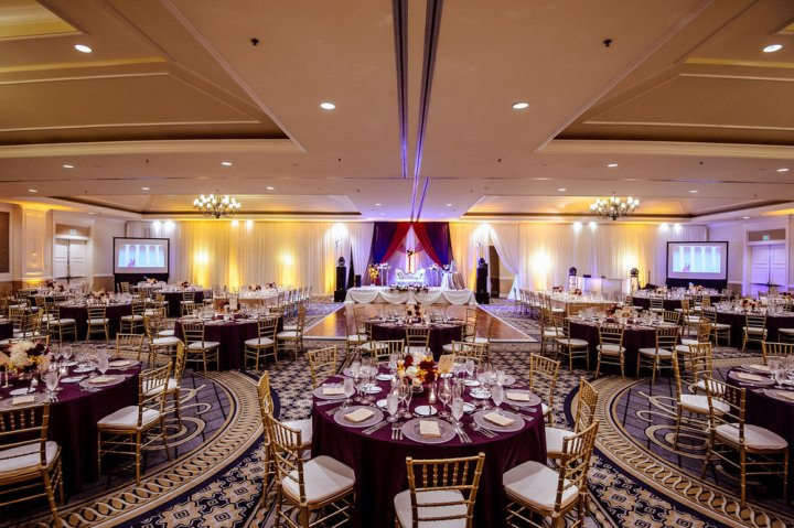Indian wedding reception at The Ritz-Carlton Half Moon Bay