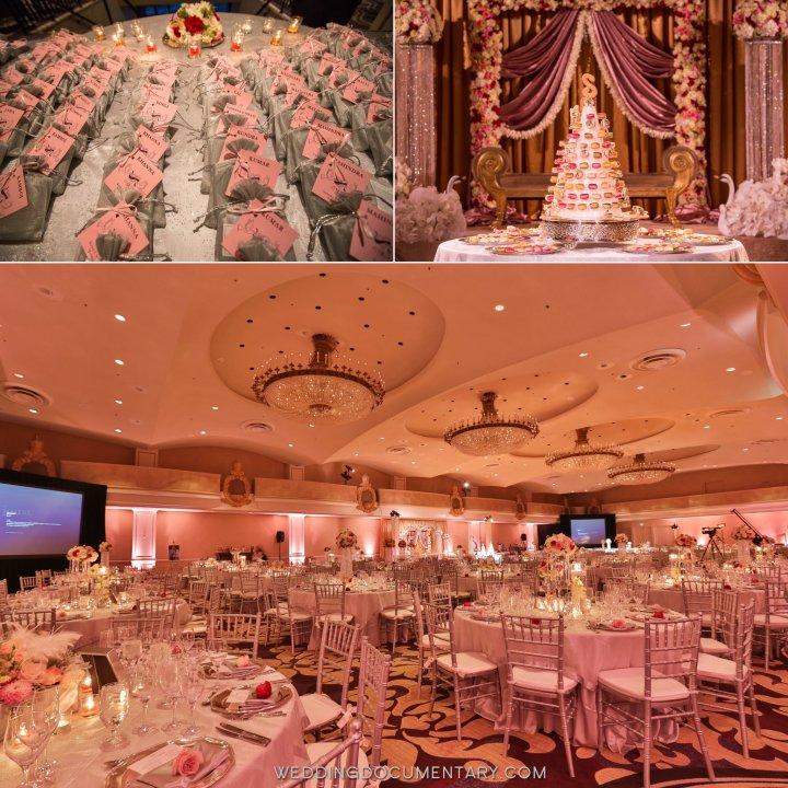 Indian wedding reception Grand Ballroom Fairmont San Francisco