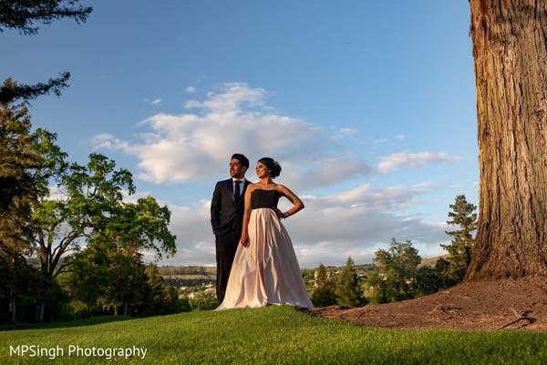Indian couple romantic photo session at Silverado Resort & Spa