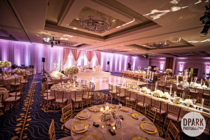 Henry and Dana Ballroom reception for Indian weding