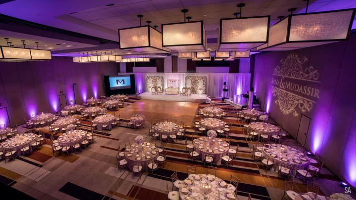 Indian wedding reception at Hyatt Regency Scottsdale Resort & Spa