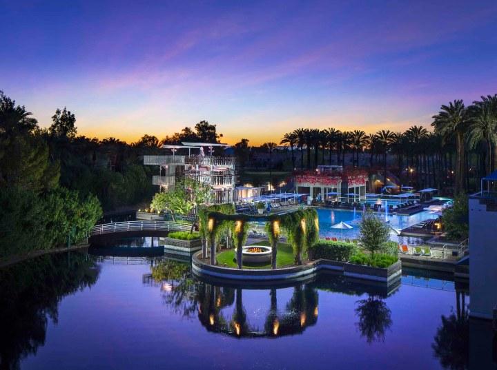 Hyatt Regency Scottsdale Resort & Spa grounds