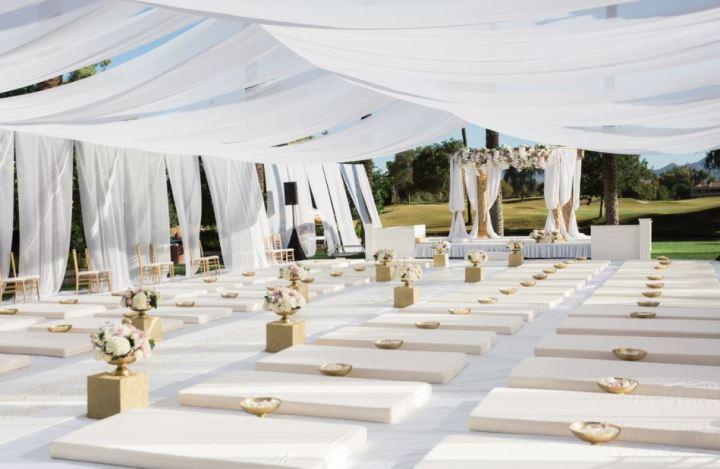 Sikh Indian wedding ceremony at Hyatt Regency Scottsdale Resort & Spa
