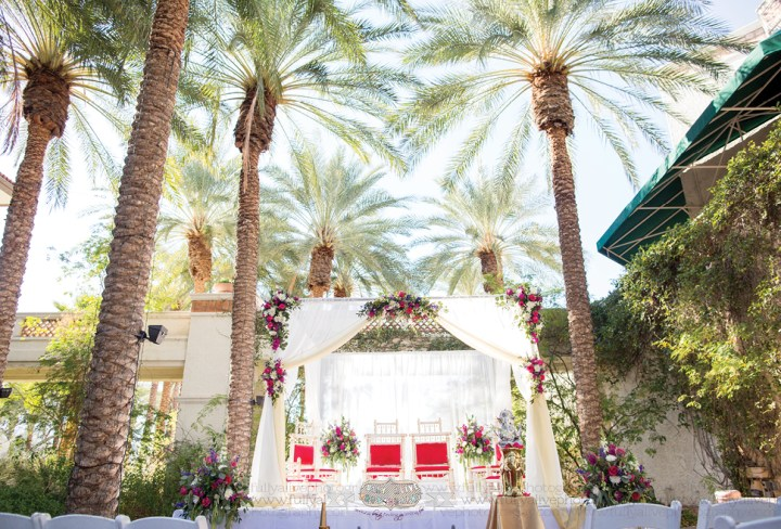 Indian wedding ceremony at Arizona Grand Resort & Spa