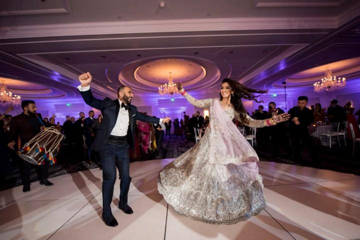 Indian wedding reception at The Ritz-Carlton San Francisco