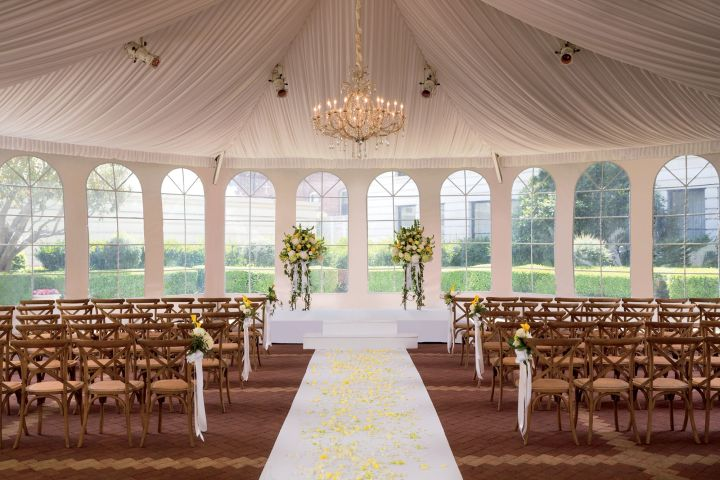 wedding ceremony at The Ritz-Carlton San Francisco