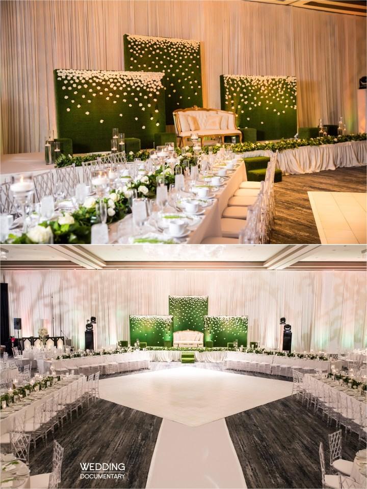 Indian wedding reception Hyatt Regency San Francisco Airport