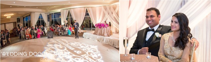 Indian wedding reception at Silver Creek Valley Country Club