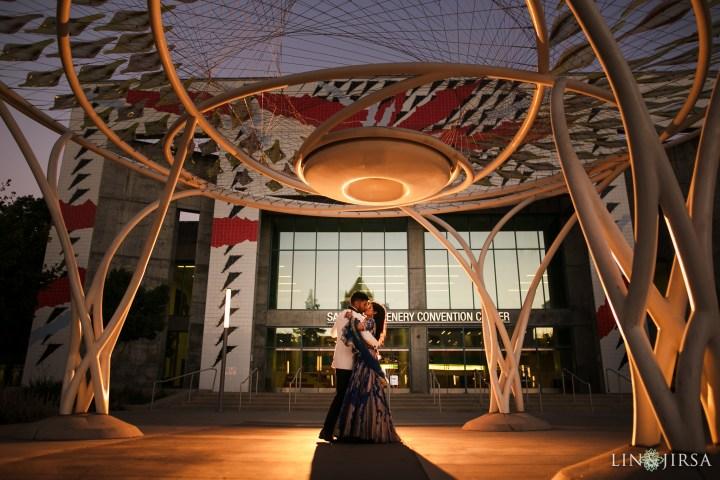 Romantic couple photo session San Jose Marriott