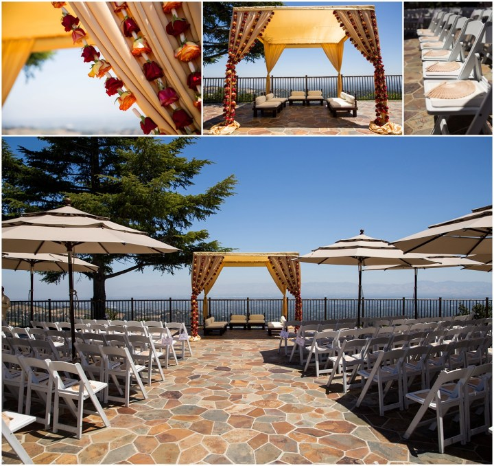 Indian wedding ceremony at The Mountain Winery