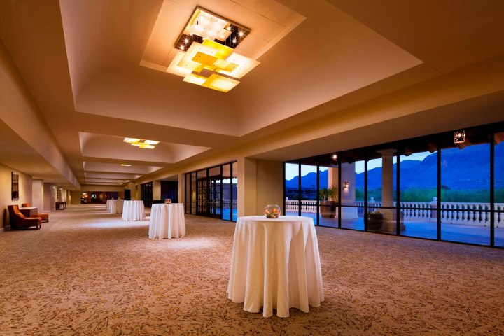Ballroom foyer in Tucson Arizona