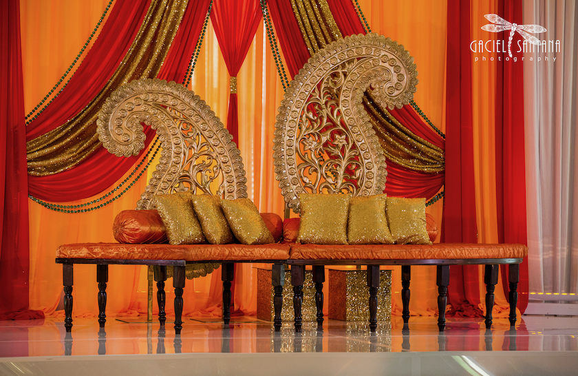 Indian wedding sangeet in Florida