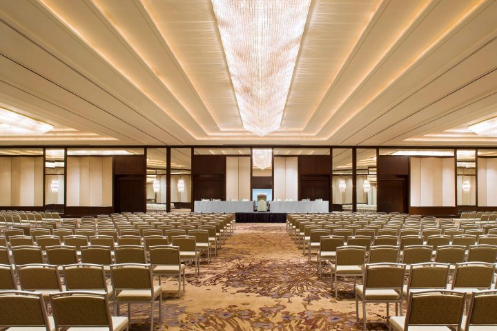 The Westin Pittsburgh Grand Ballroom for a wedding ceremony