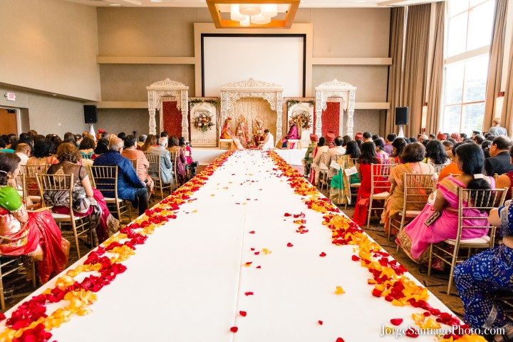 Indian wedding ceremony Wyndham Grand Pittsburgh Downtown