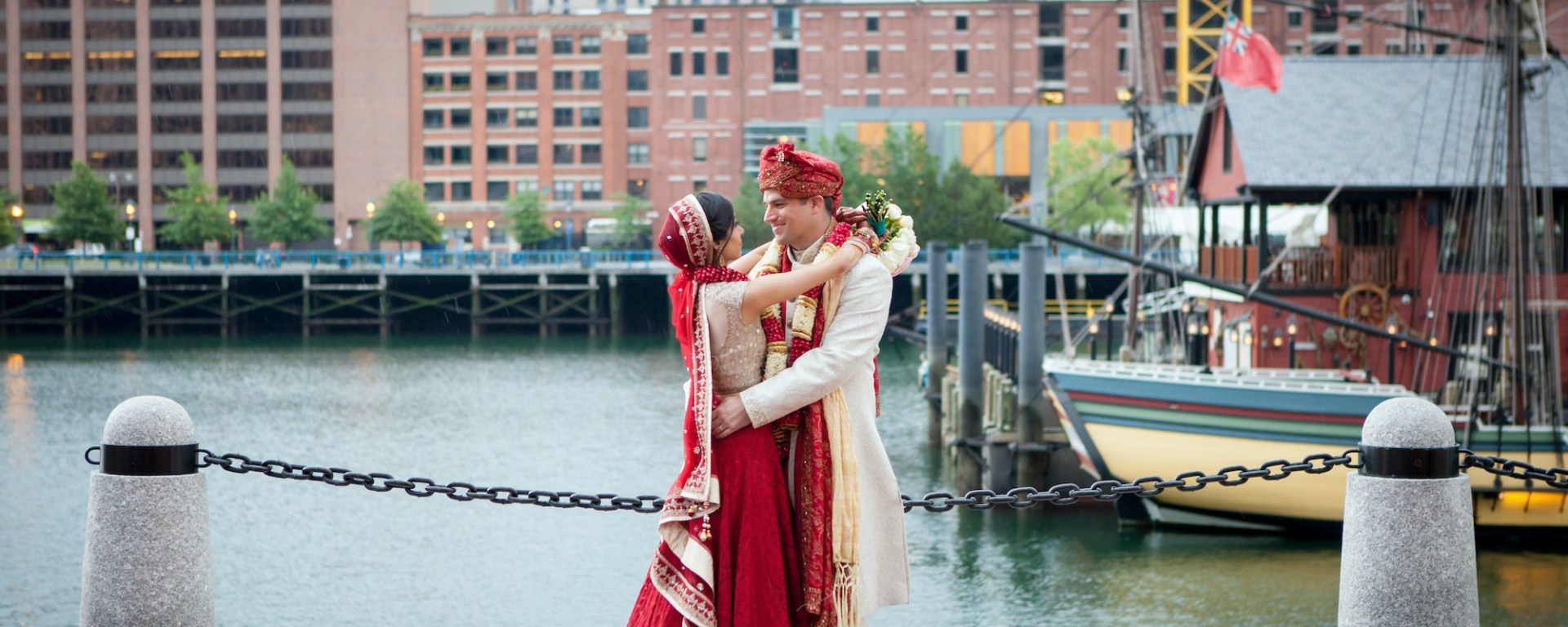 Indian wedding at the InterContinental Boston