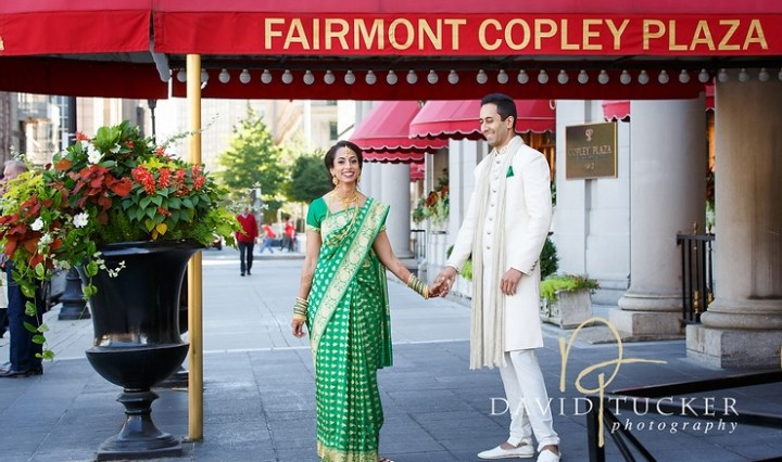 Indian wedding at the Fairmont Copley Plaza