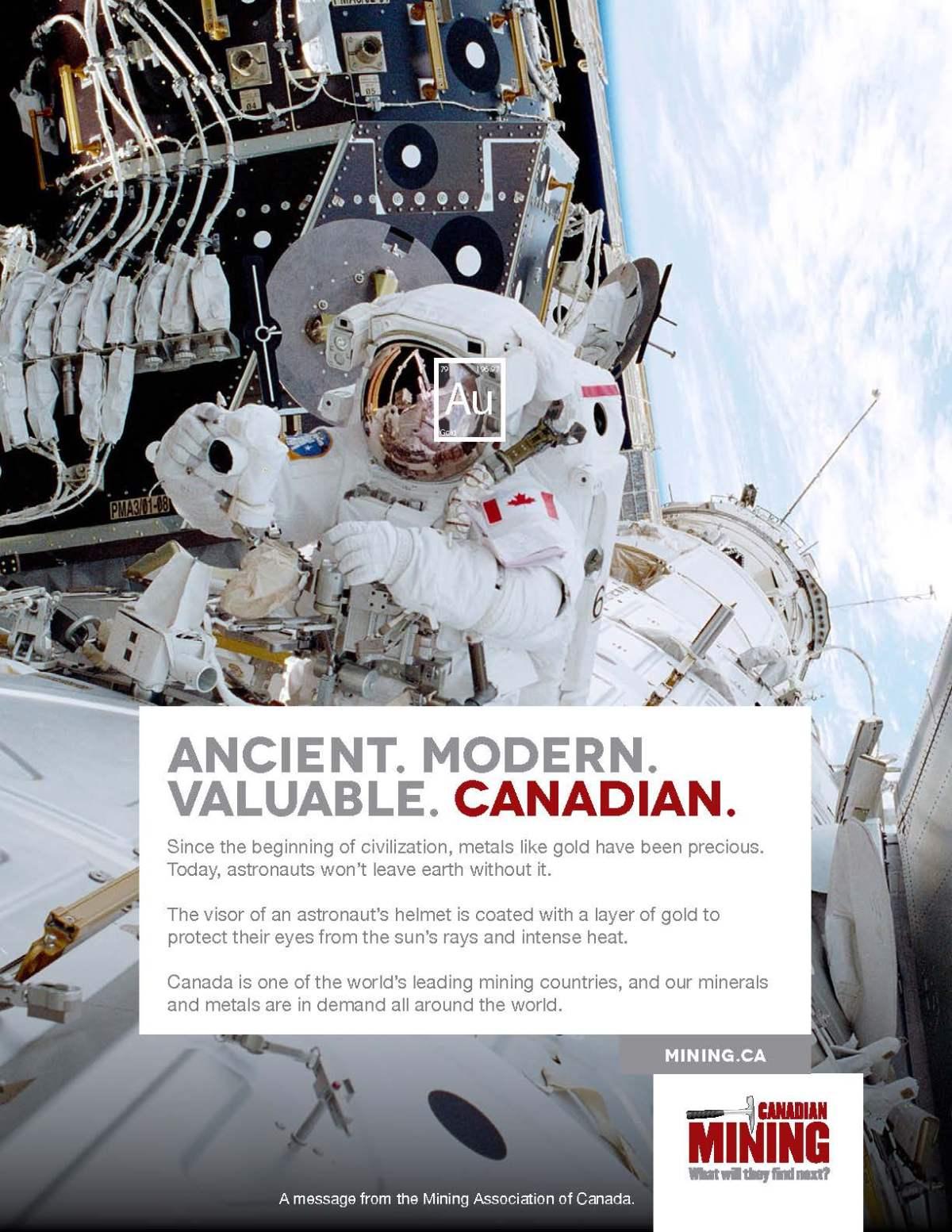 MAC Astronaut Ad