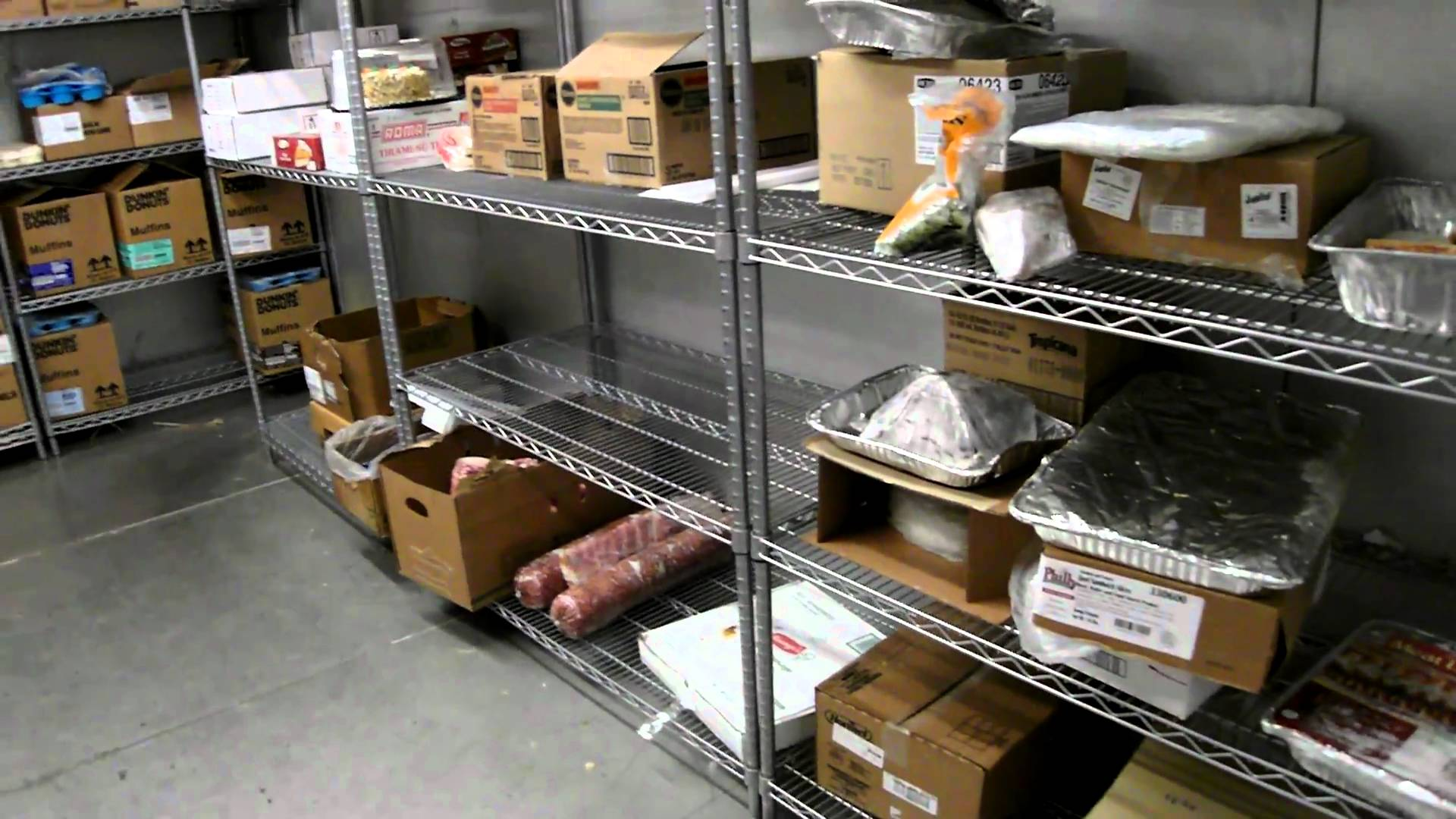 Raw Food Storage Order