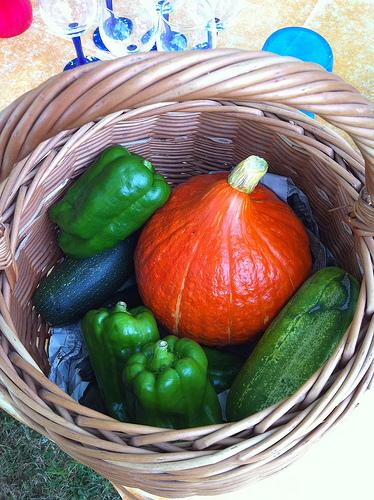 Les légumes de Juliette sont arrivés pour le barbecue