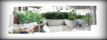 Vue de la terrasse (essai de #SeeThis)