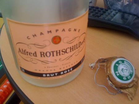 Champagne pour vente-privee.com !