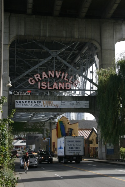 canada vancouver Granville Island Chinatown Gastown