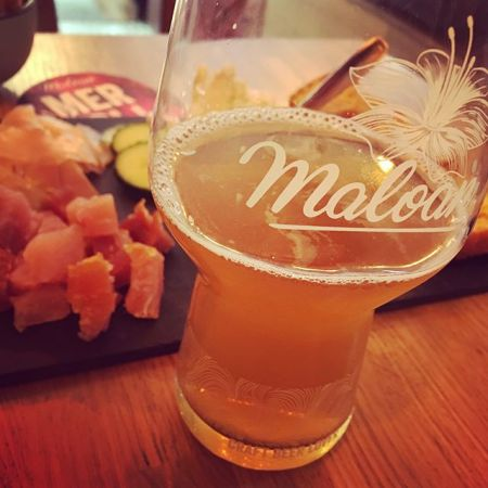 The place to be à #Rennes : le @maloan_beer !