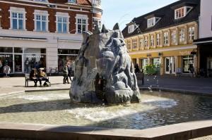 Springbrunnen Holstebro