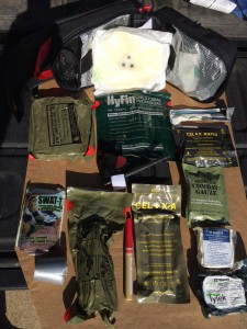(Mike's) IFAK kit and all of its contents.   Each one has a specific purpose and Bill taught me to repack it so I could easily access what I needed.