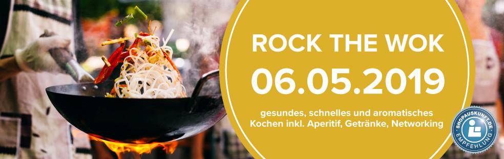 Gewinnspiel: Rock the Wok