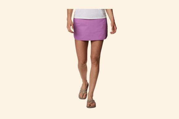 Purple Columbia Skirt