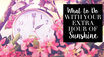 Featured Image: What to Do with Your Extra Hour of Sunshine
