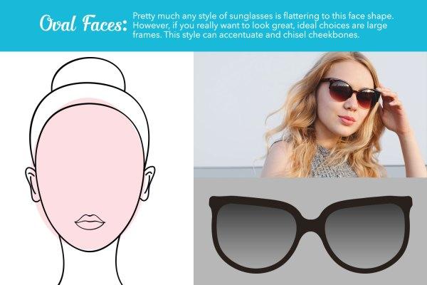 oval face sunglasses guide