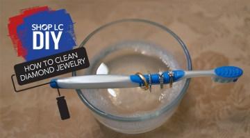 Cleaning Diamond Jewelry DIY