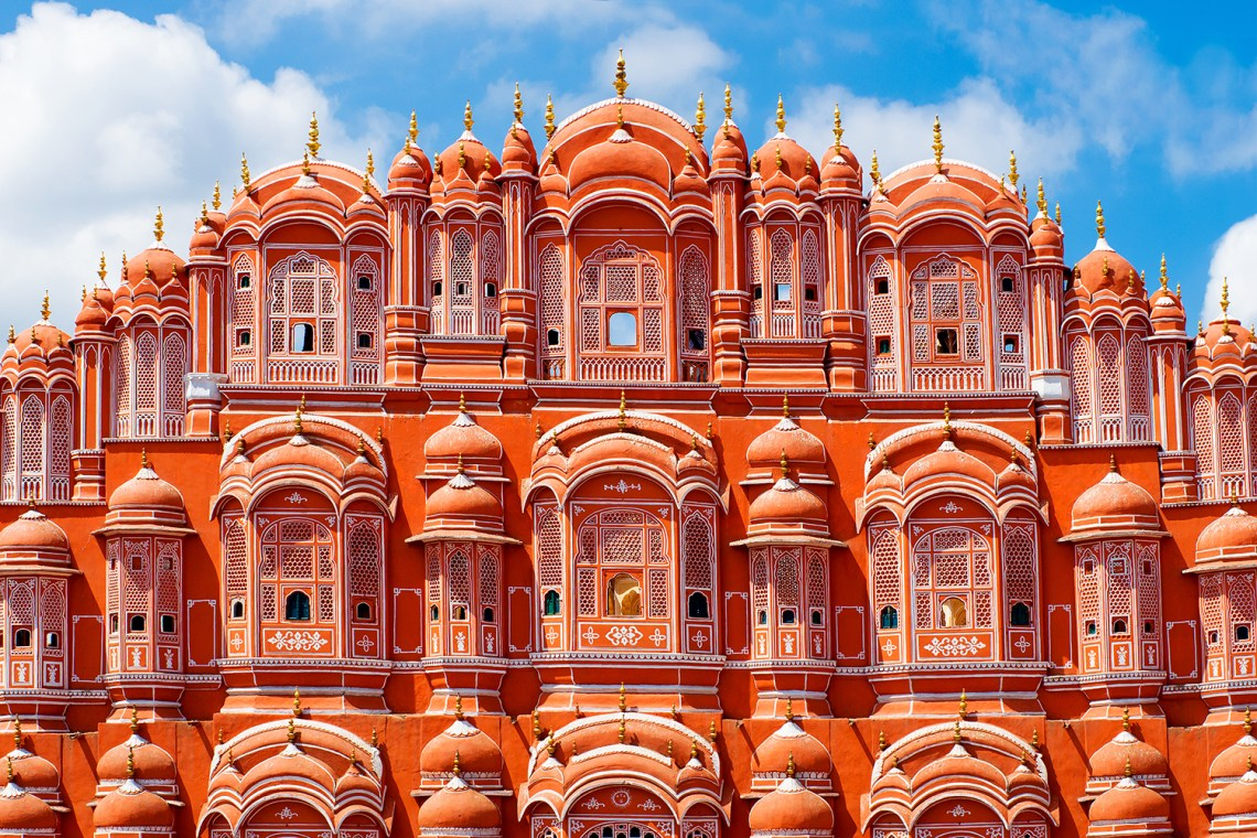 "Jaipur, the ""Pink City."""